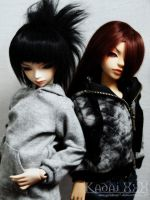 BJD Keilen and Hise by Jenova87