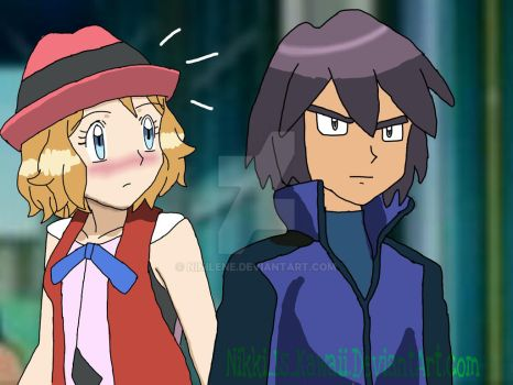 Serena and Paul- Meeting by Nikki-Is-Kawaii