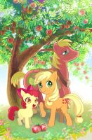 The three apple siblings by skimlines