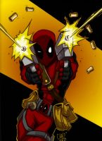 Deadpool Colored by Aerorious
