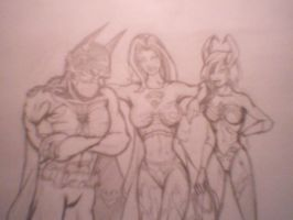 Trio Conflict DC and Top Cow by Richardsoncreations