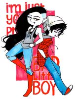 Marcelline and Marshall Lee by Glory-Day