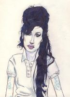 Ms Winehouse by knockdownginger