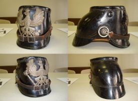 WWI German Shako by KrDoz