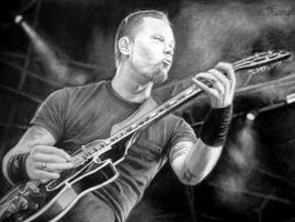 James Hetfield by tomwright666
