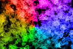 Rainbow Leaves HD Wallpaper by jericaneely15