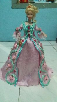 barbie robe ala francaise part 5 by seawaterwitch