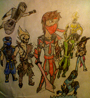 Trident and Friends by TridentTJR