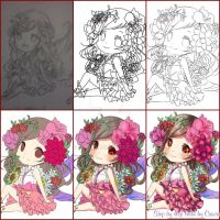 Step by Step Chibi by cuwiie