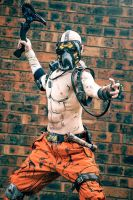 Borderlands 2 - Krieg the Psycho Bandit by Shazzsteel