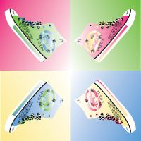 Shoe Andy Warhol XD by Maszeattack