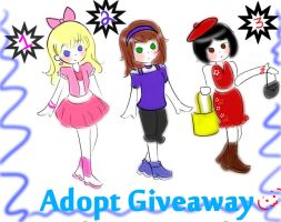 Adoptable Giveaway (CLOSED) by Mindless-Artist
