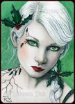 ACEO -- Holly by ElvenstarArt