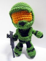 Halo - Master Chief Doll by Nissie