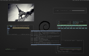 Evil desktop on hackbox by mati75