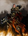 Adepta sororitas Heavy flamer by CELENG