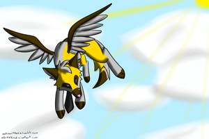 Patchy the winged wolf by patchy-teh-awesome1