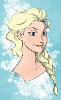 Queen Elsa by IzziBelle