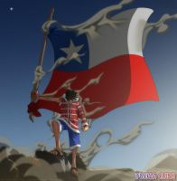 Fuerza Chile by goldenhans