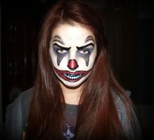 Scary Clown... by Tania20a