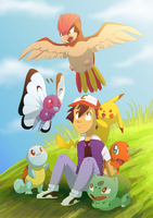 Pkmn nostalgia by Frozenspots