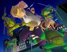 TMNT BTTS: Main Titles Hun 1 by E-Mann