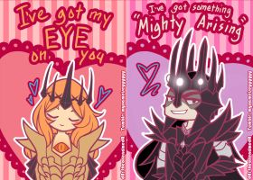 Angbang Valentine's Cards by TheonenamedA