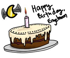 Happy Birthday Engelmoon by OkayIlie