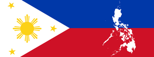 Philippines Plag and Map by kennyzzle
