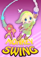 Link and Samus Monkey Swing by omegalife