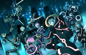 Tron X One Piece by suzuran
