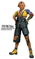 Tidus FFX PNG by SunSakura