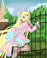 Chii at the Gate - 4 Friends by Midnight-Dark-Angel