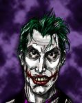 Joker , Portrait of a Clown by gwynplaine60