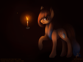 spark in the dark| Commission by kotosova
