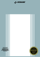 Konami NES Front Cover of Box Template by CadmiumRED