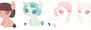 Pony Adoptables Again? by Cookiegirl101