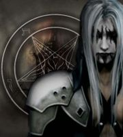 Black Metal Sephiroth by nmkhronos