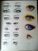 Eyes by MoonlitRainbow