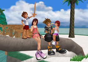 MMD - Meeting Ourselves - SoKai by XxChocolatexHeartsxX