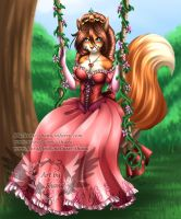 Affie-beck-lauder commission - Princess by RedRose-Shana