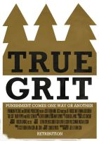 True Grit Poster by W0op-W0op