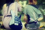 K-ON:Bass and Drums by Shikke