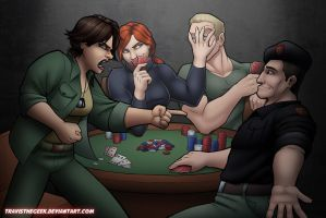GI Joe Poker Redux by TravisTheGeek