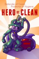 HERO OF CLEAN by Mephikal