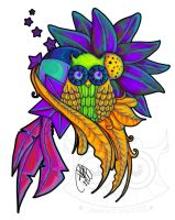 Tattoo Design : True Colors by Mareve-Design