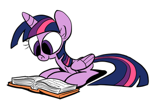 Reading Twilight by JoeyWaggoner