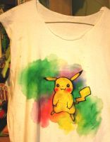 Pikachu shirt by iscaylis