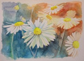 Spring watercolour by anasoriano