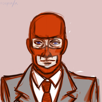 RED Spy-sketch 1 by Morgan-The-Pirate